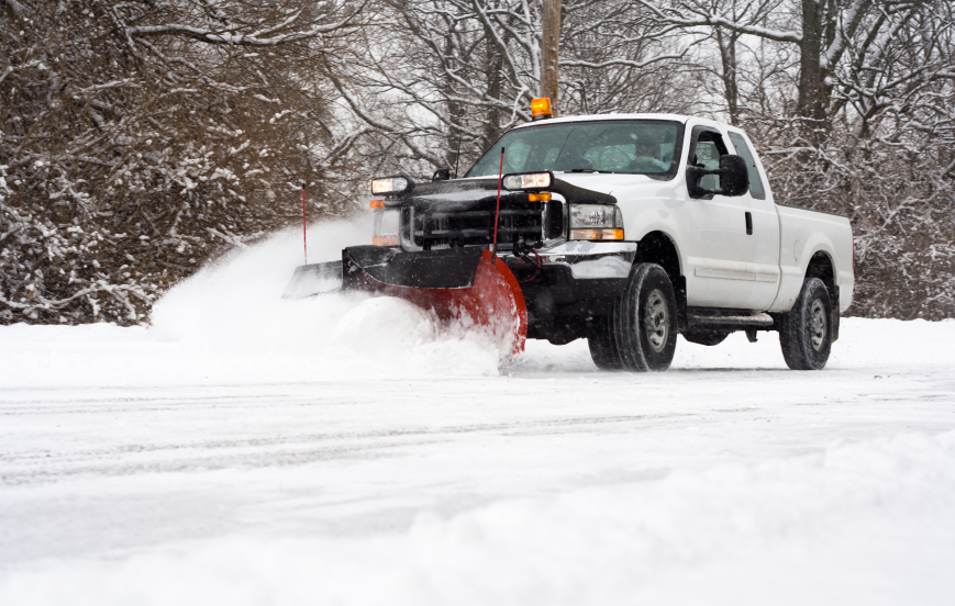 Commercial Snow Removal - MD, DC, VA - Complete Landscaping Service