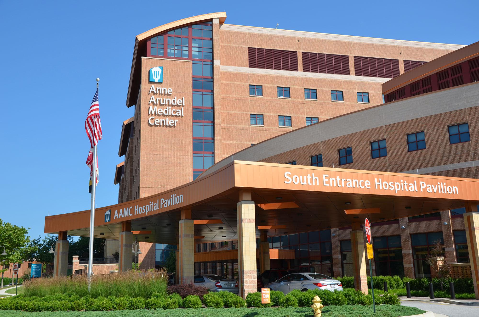 Anne Arundel Medical Center - Commercial Landscape Maintenance Portfolio - Complete Landscaping Service in MD, DC, VA