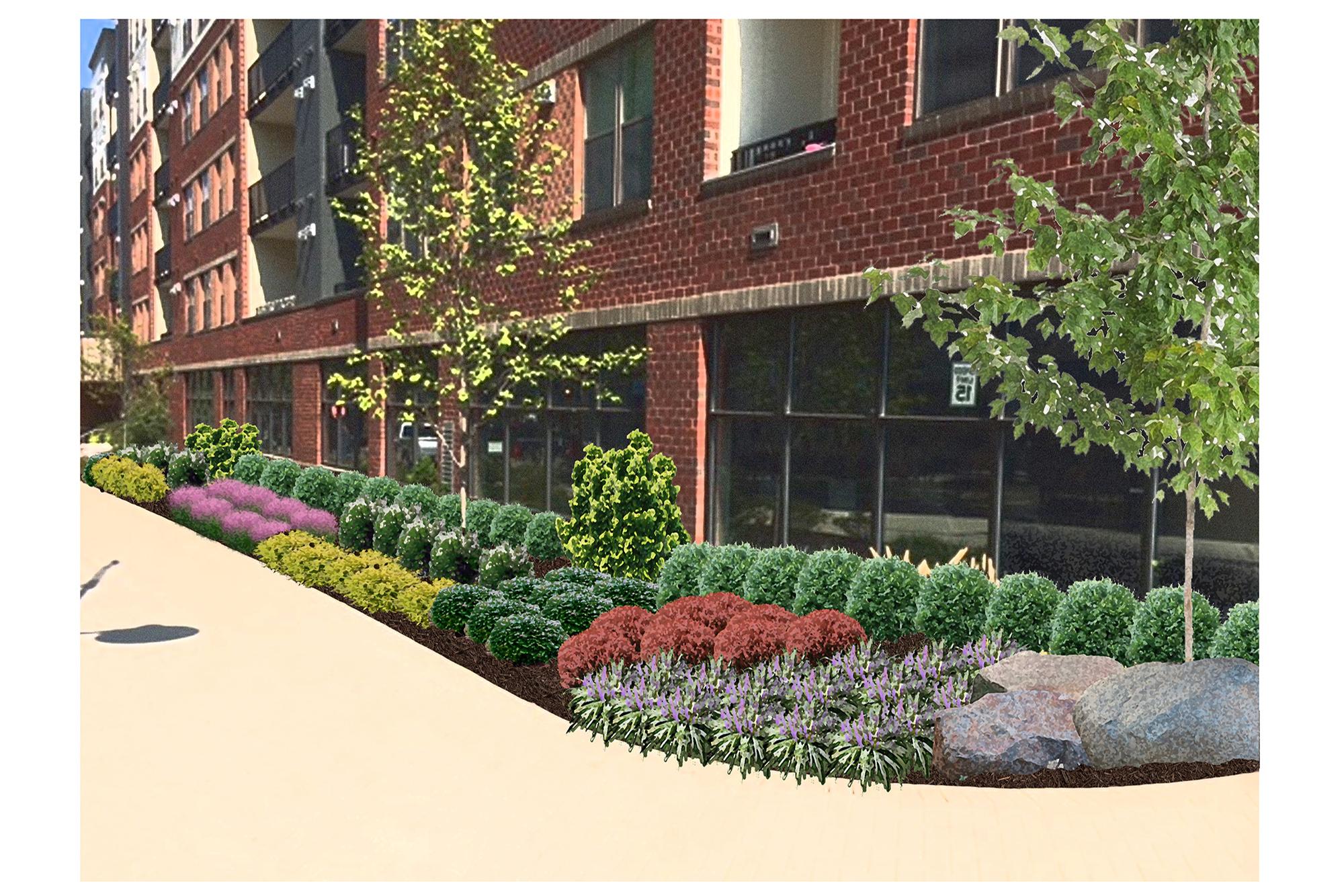 commercial landscape design 3 - md, dc, va