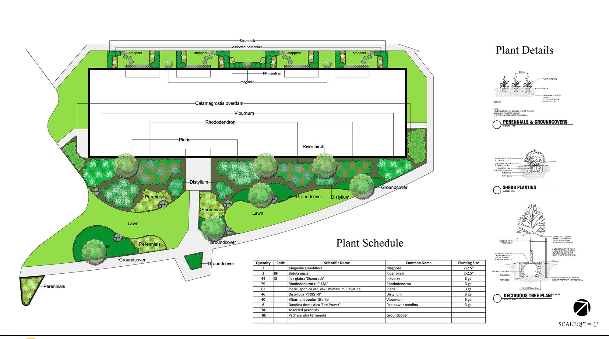 Commercial Landscape Design Master Plans