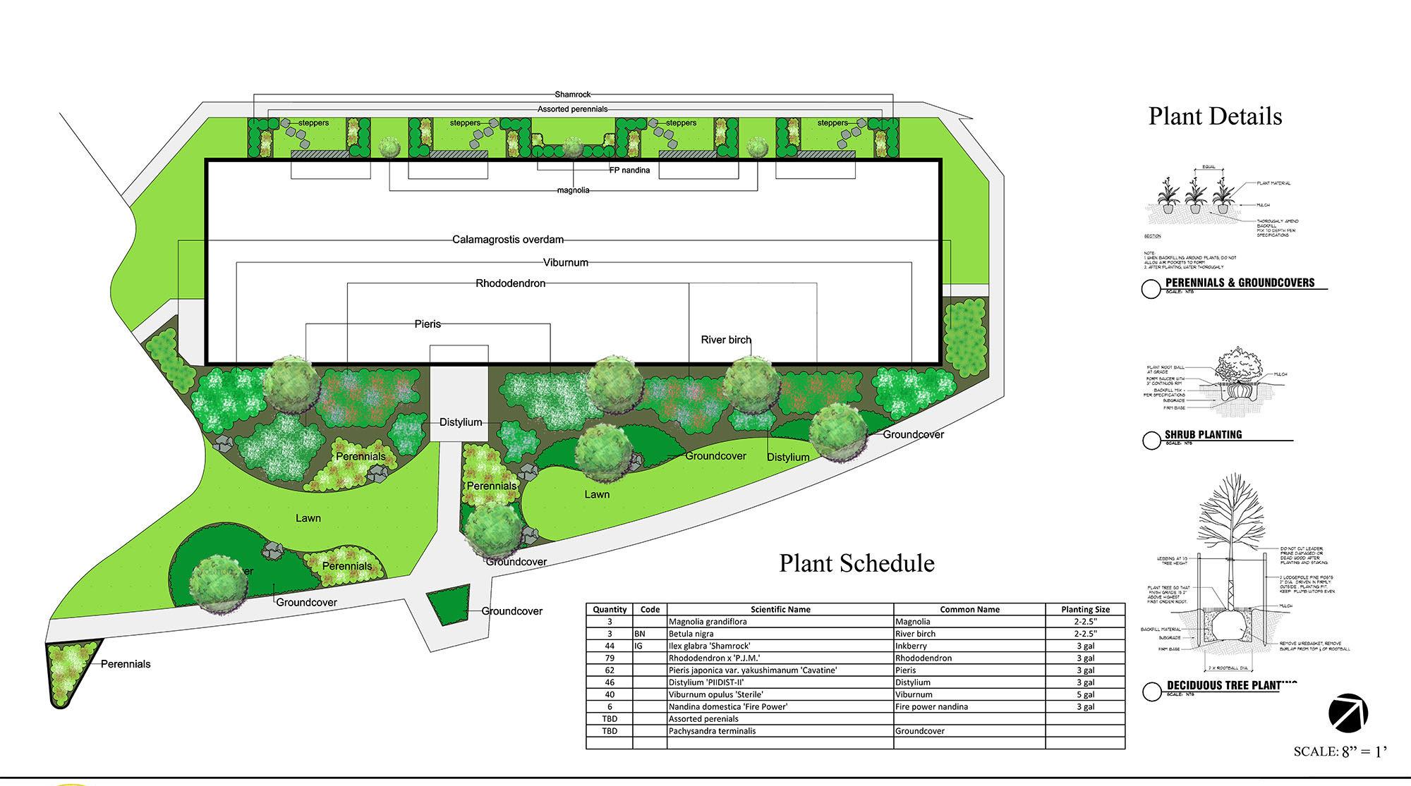 commercial landscape design 2 - md, dc, va