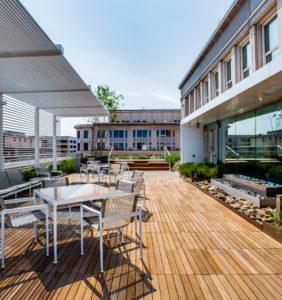 DC Office Building-Landscape Construction