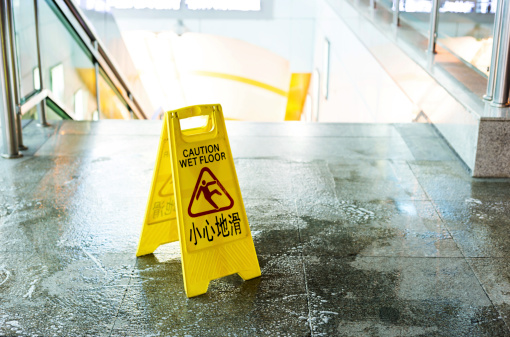 How to Prevent Slip & Falls At Your Property This Winter - Complete Landscaping Service