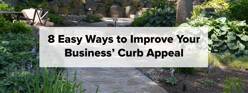 How to Improve Your Business' Curb Appeal - Complete Landscaping Service