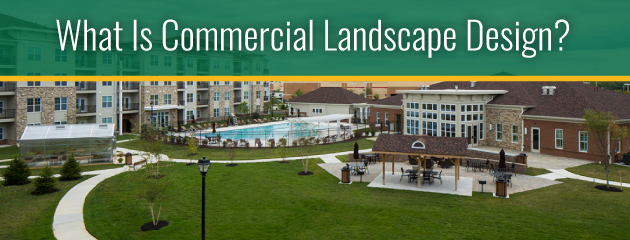 what is commercial landscaping design