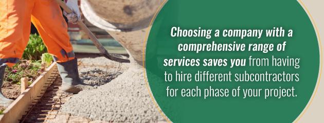 cheaper than subcontractors