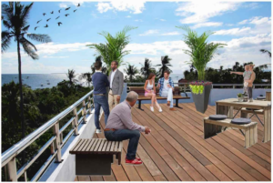 Rooftop Common Area