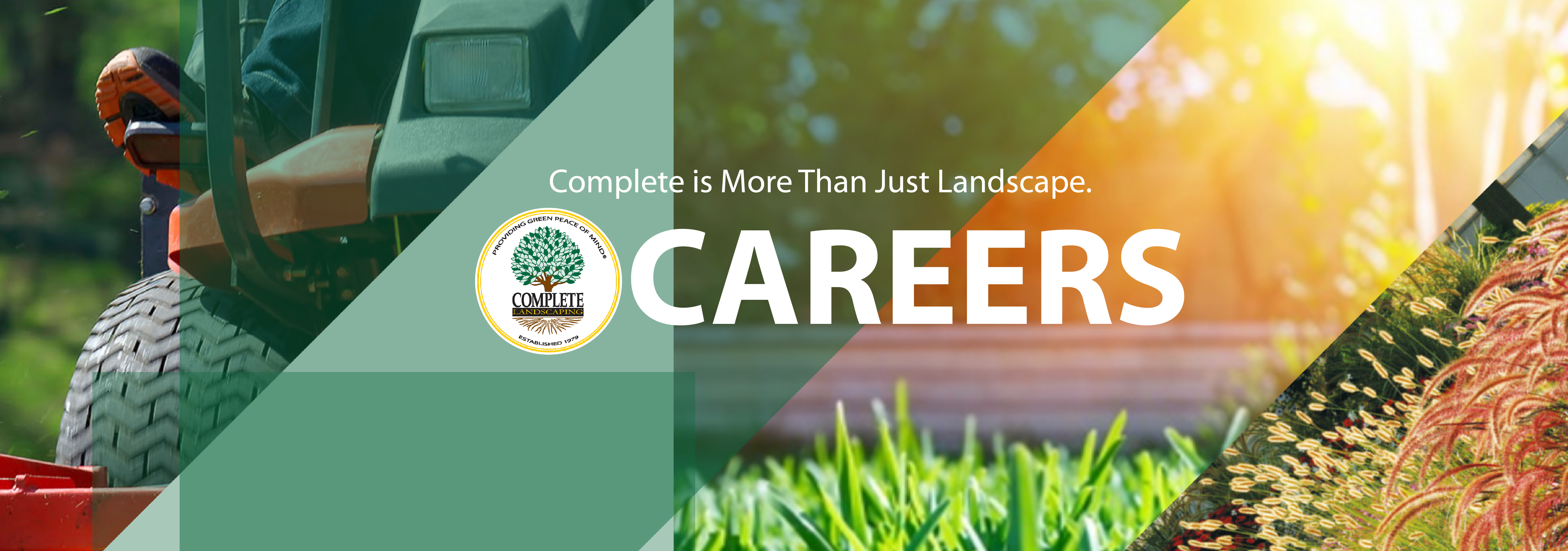 Careers at Complete Landscaping Service