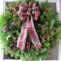 Caring for Live Holiday Decor