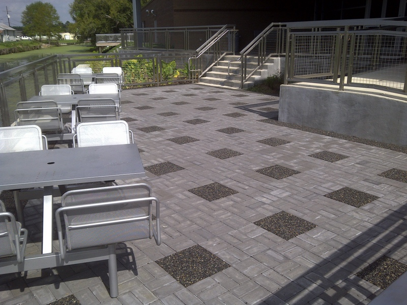 Permeable pavers for green landscaping
