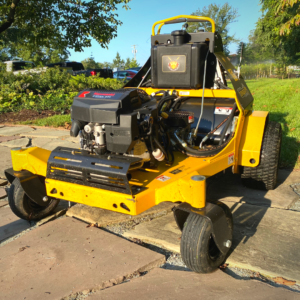 aerate your lawn in the fall