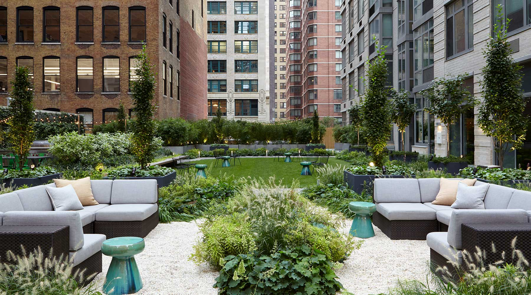 Evolution of Outdoor Spaces