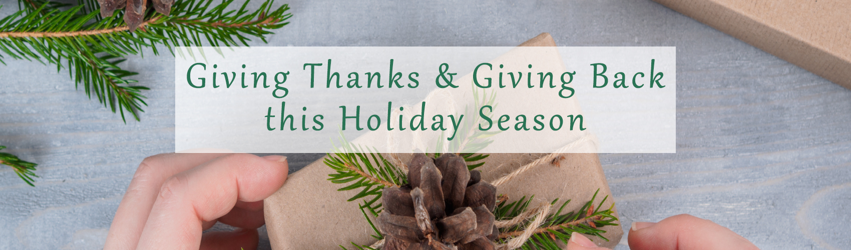 Complete Landscaping Service is Giving Thanks and Giving Back this Holiday Season