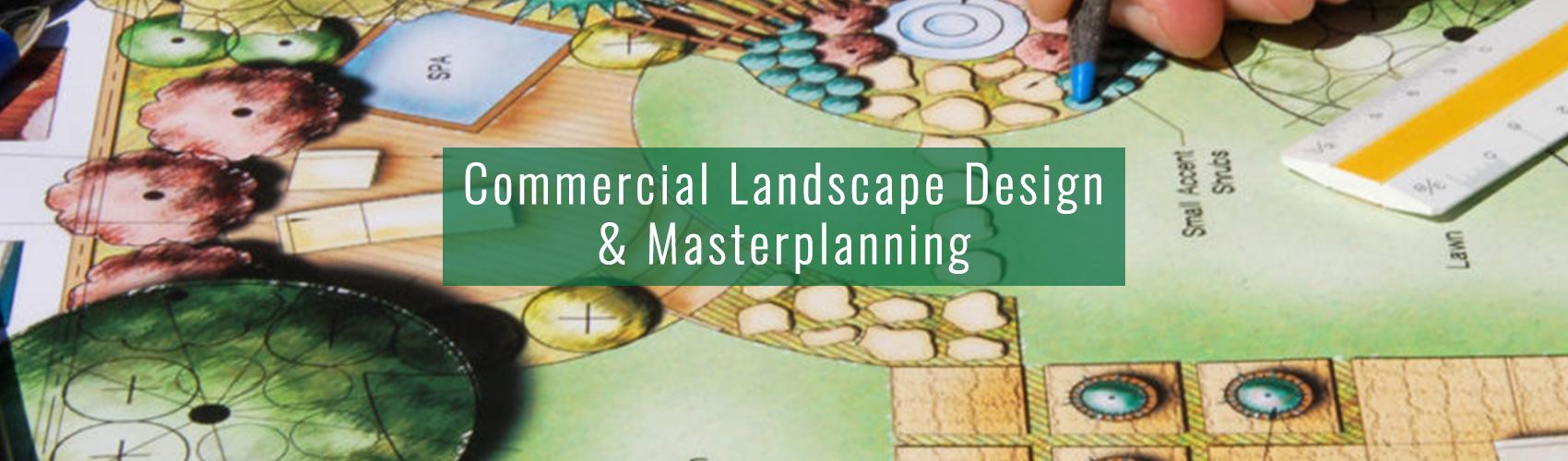Commercial Landscape Design & Masterplanning from Complete Landscaping Service