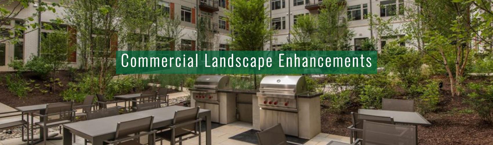 Commercial Landscape Enhancements- Complete Landscaping Service