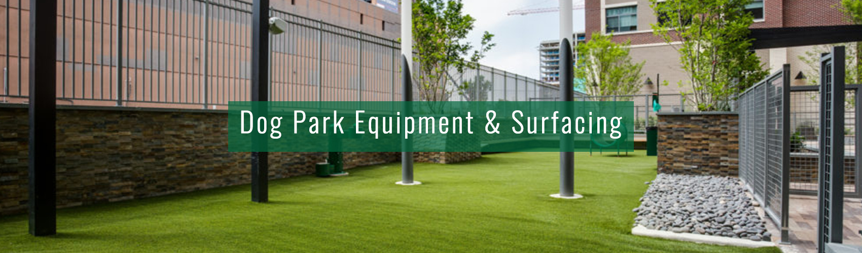 Dog Park Equipment and Surfacing from Complete Landscaping Service