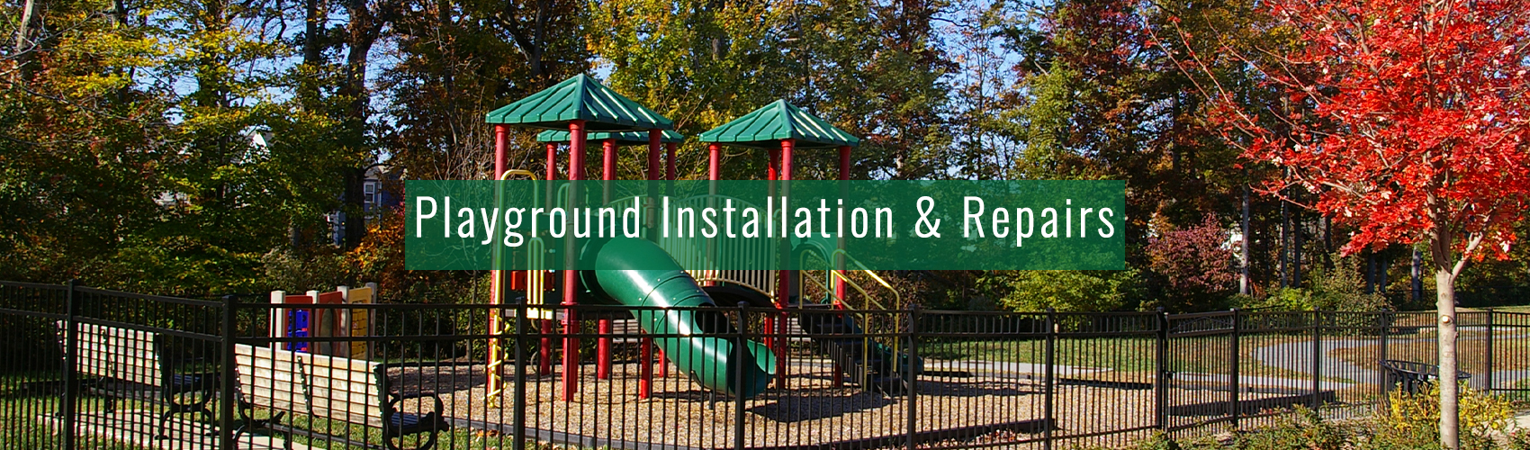 Playground Installation and Repair for your Commercial Property from Complete Landscaping