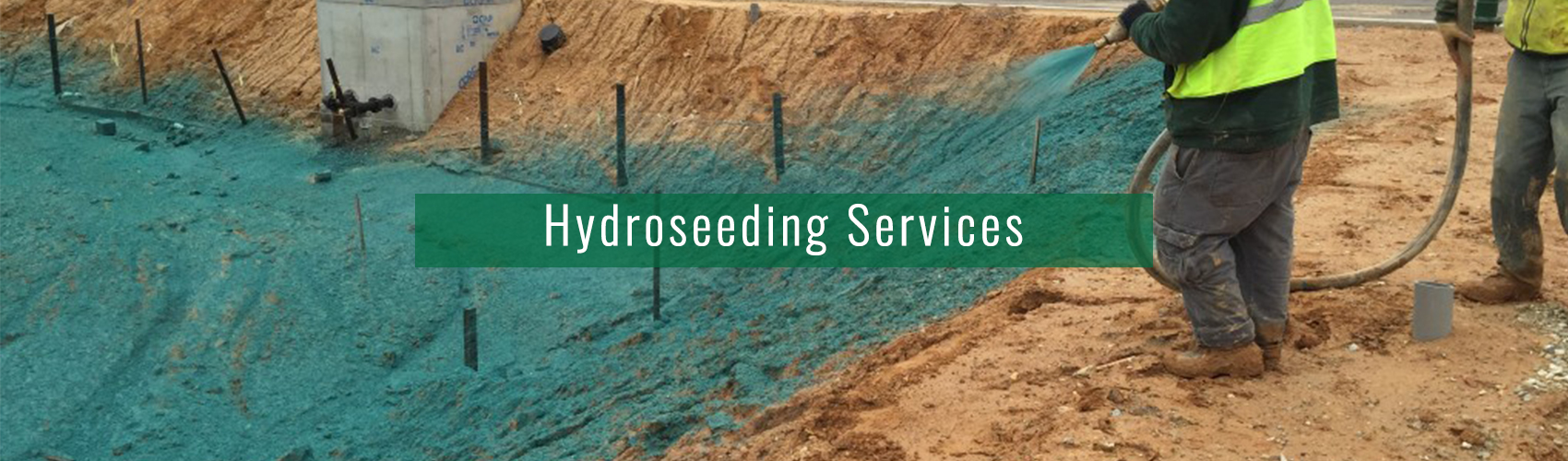 Hydroseeding Services in MD, VA, DC from Complete Landscaping
