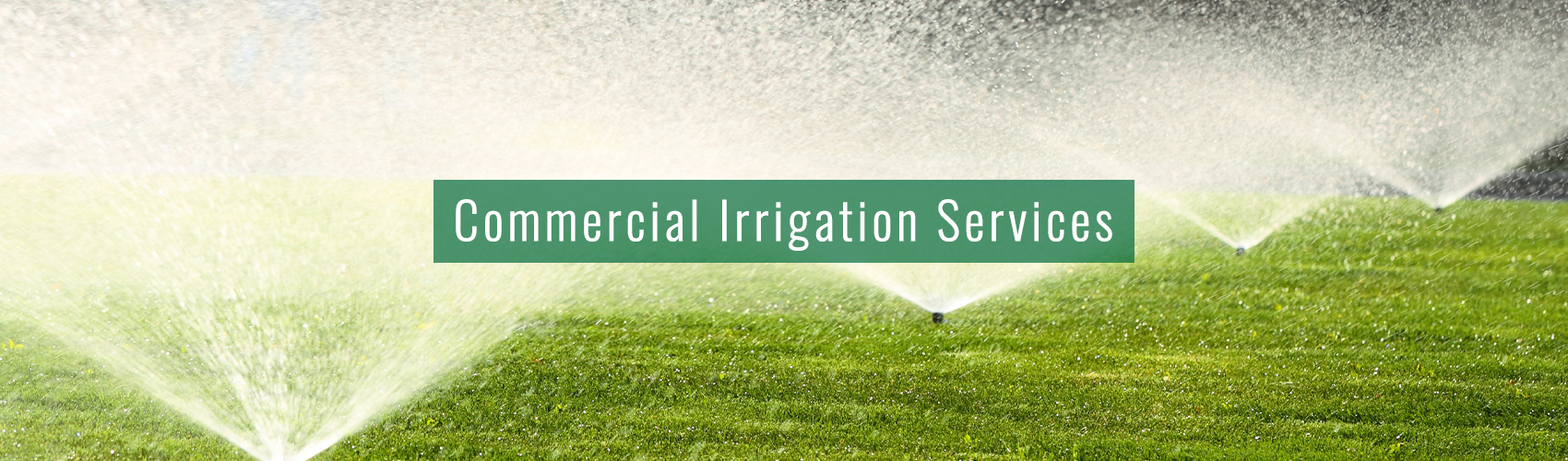 Commercial Irrigation Services Complete Landscaping Service