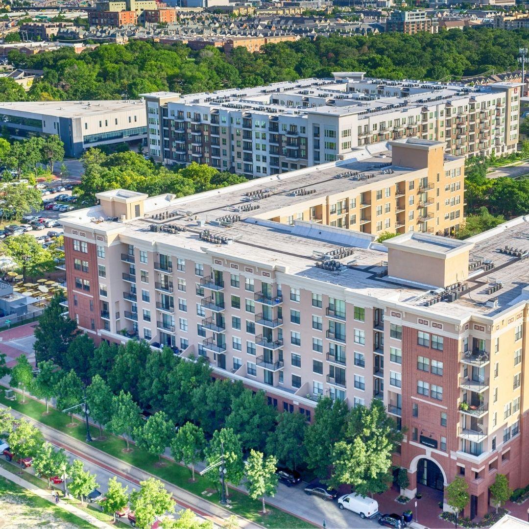apartment complex landscaping