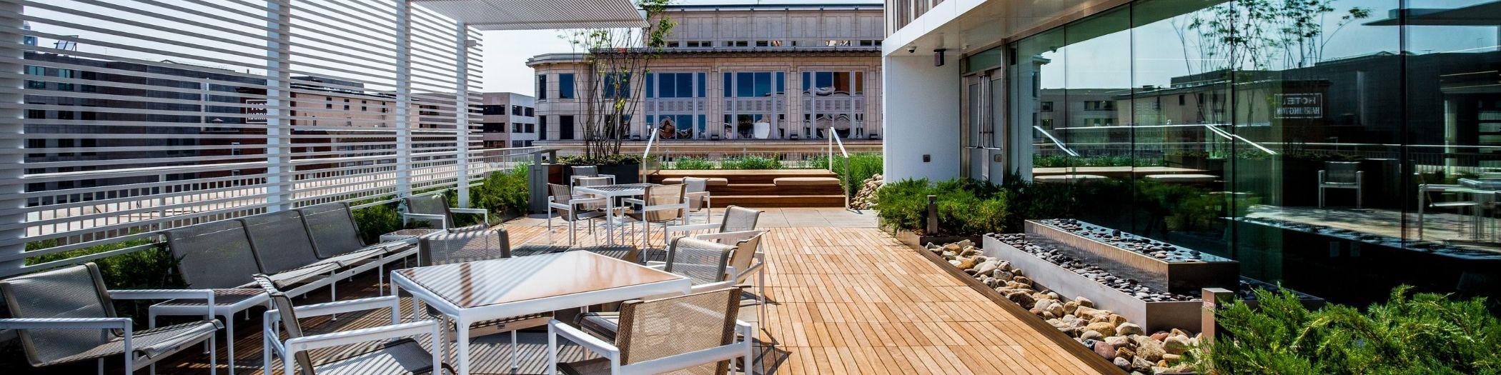complete landscaping services PORTFOLIO OFFICE BUILDINGS