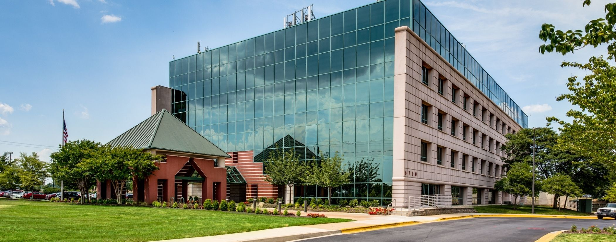 Commercial Landscaping Services for Office Buildings