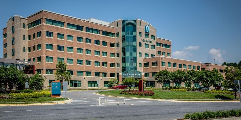 landscaping at anne arundel medical center