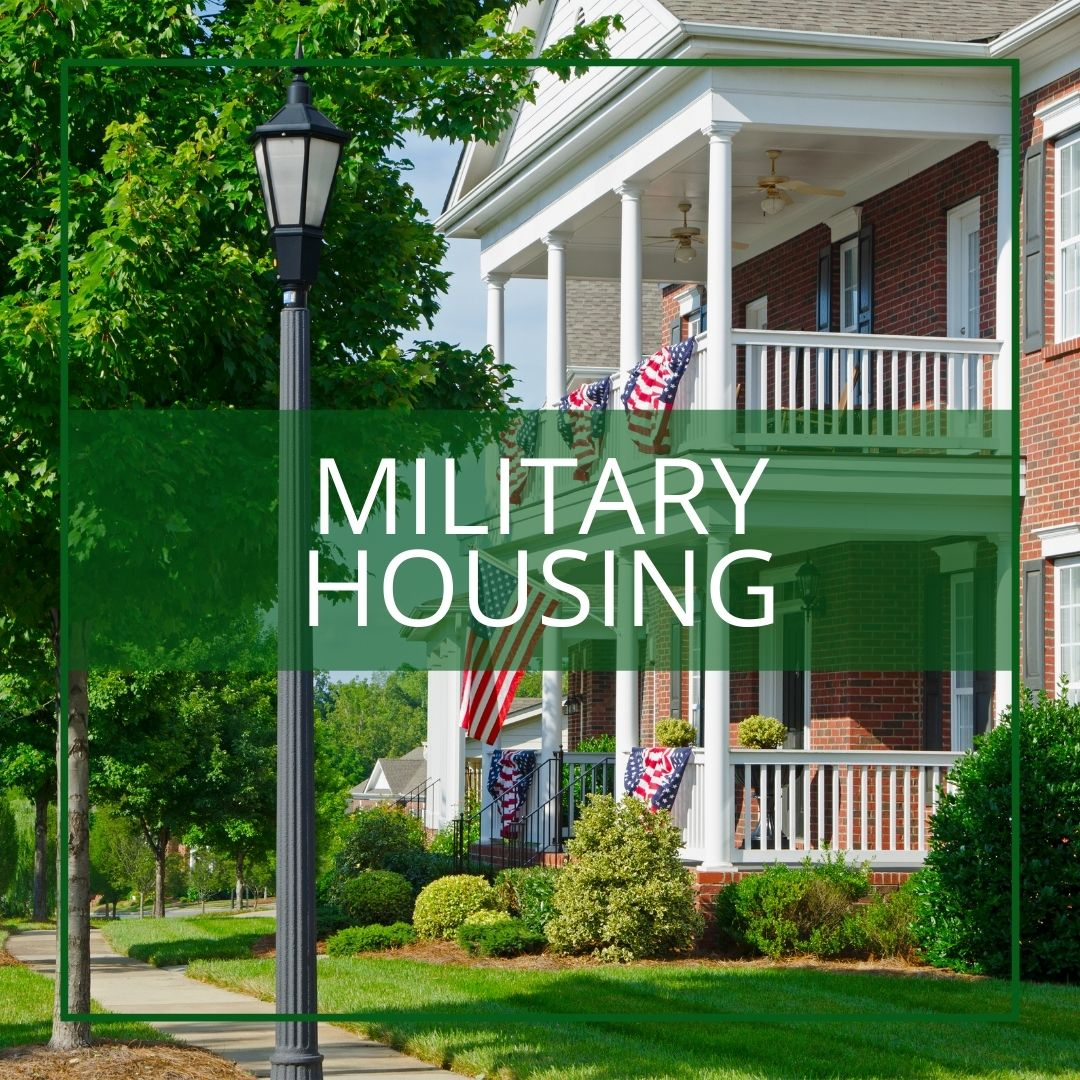 landscaping government and military housing maryland dc virginia