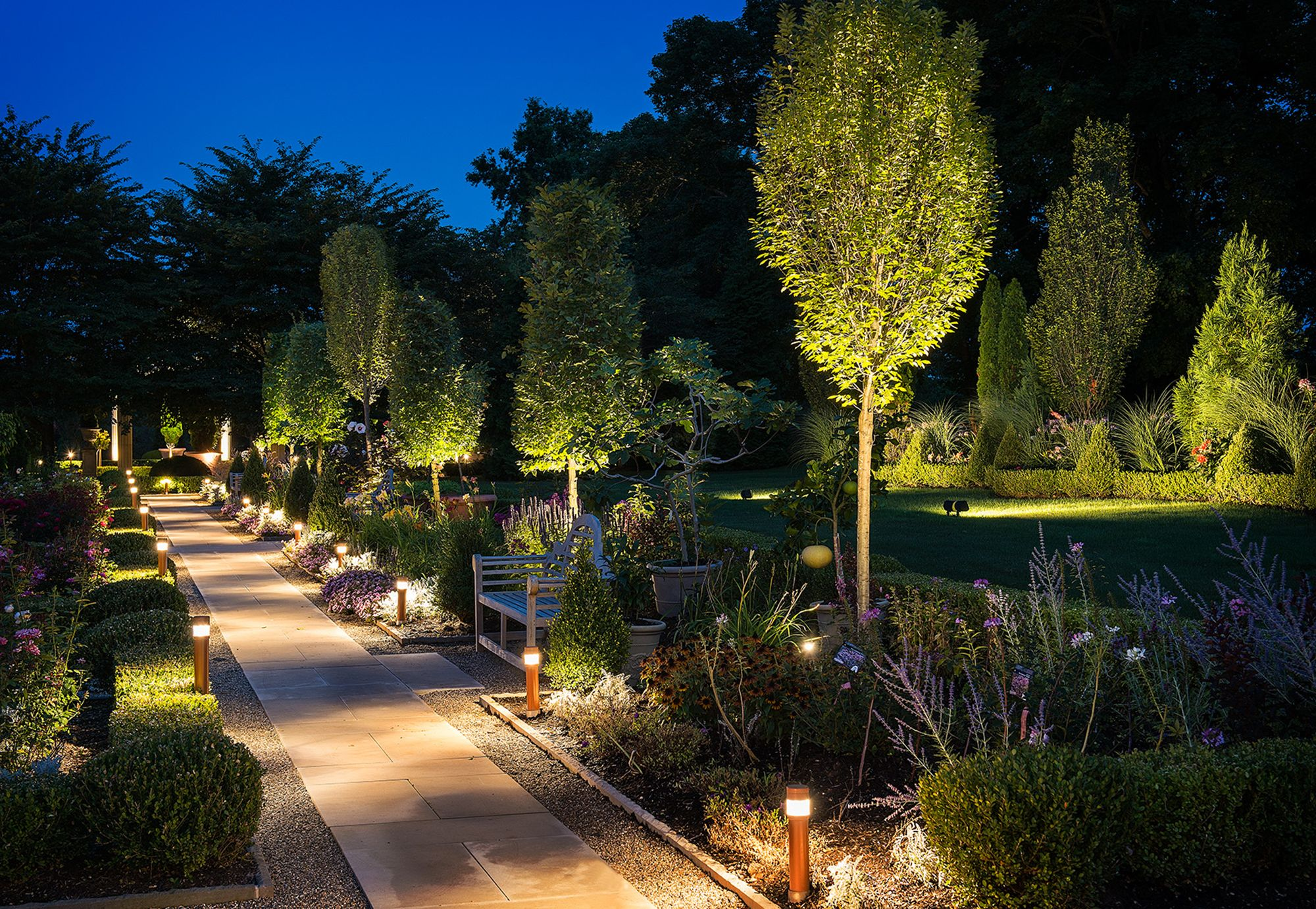 Get Your Property Noticed with Landscape Lighting Complete Landscaping Service